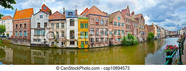 Ghent, Belgium  - csp10894573