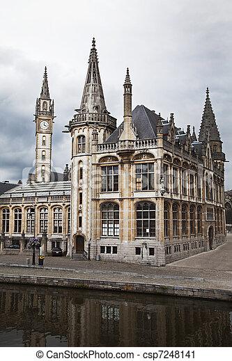 Ghent, Belgium - csp7248141