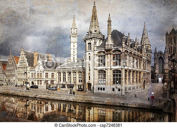 Ghent, Belgium - csp7248381