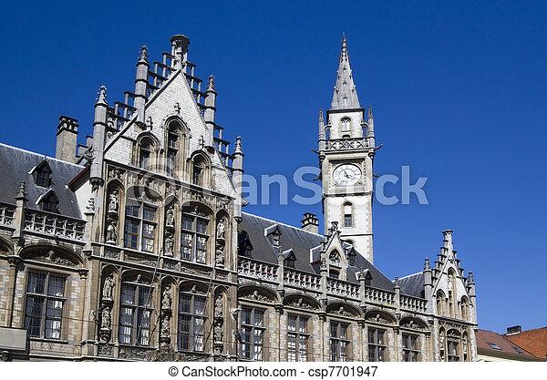 Ghent, Belgium - csp7701947