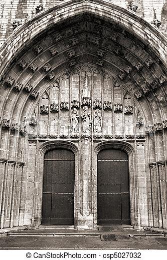 Ghent, Belgium - csp5027032