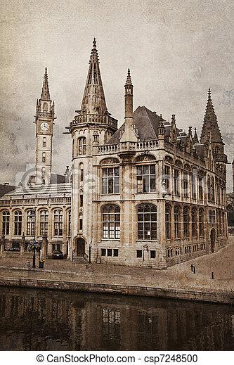 Ghent, Belgium - csp7248500