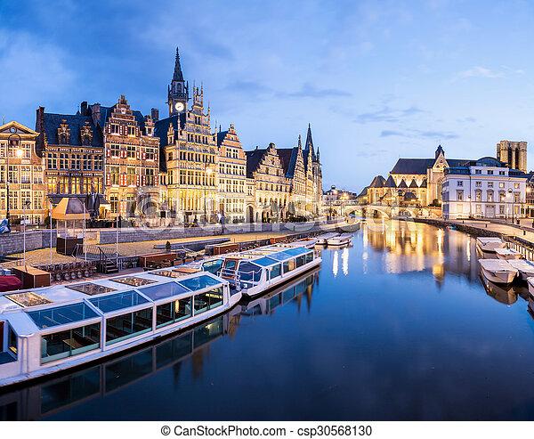 Ghent Belgium - csp30568130