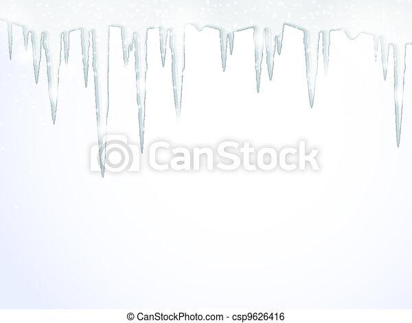 ghiaccioli - csp9626416