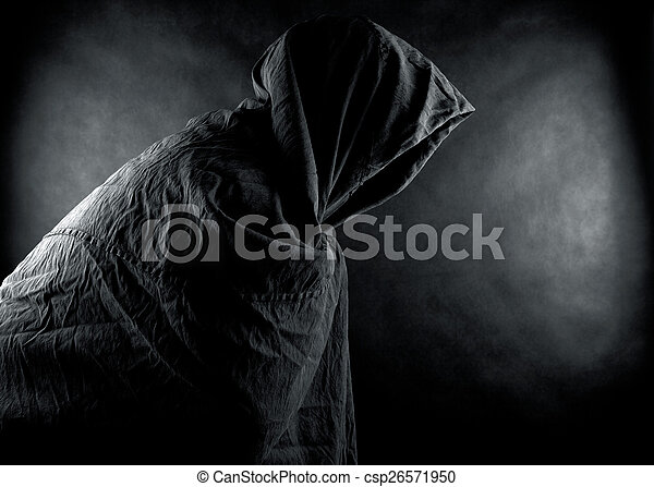 Ghost in the dark - csp26571950