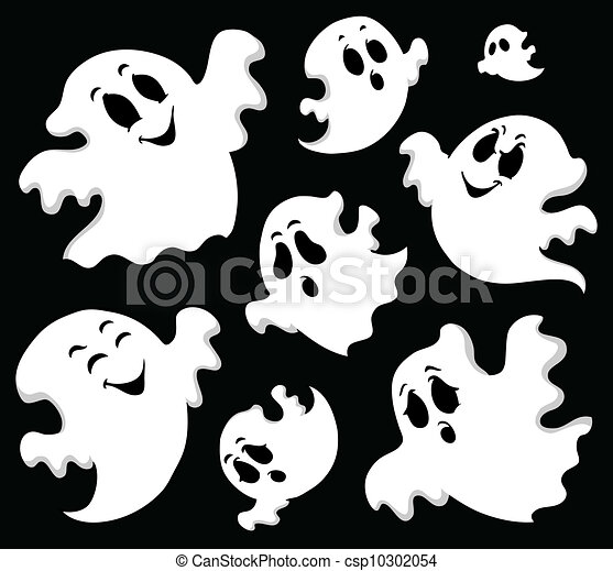 Ghost theme image 1 - csp10302054