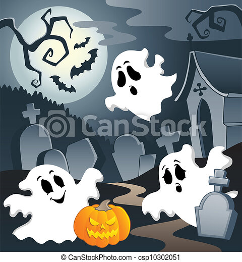 Ghost theme image 3 - csp10302051