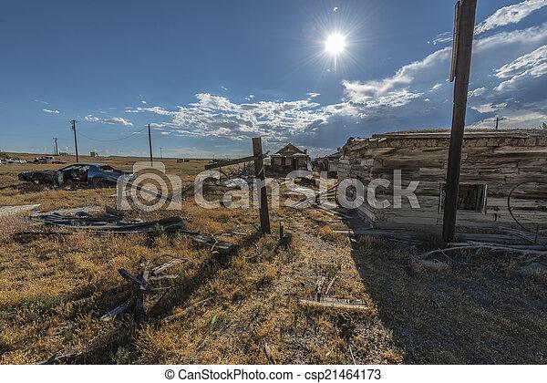 Ghost Town Cisco Utah - csp21464173
