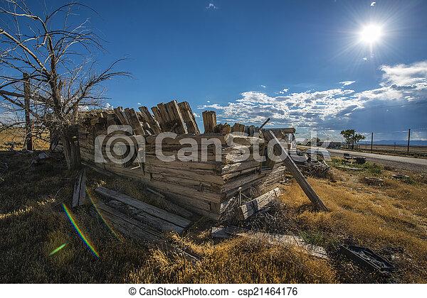 Ghost Town Cisco Utah - csp21464176