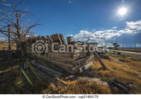 Ghost Town Cisco Utah - csp21464179