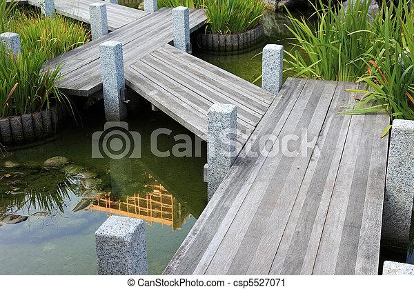 Giardino legno giapponese passerella monaco europe for Legno giapponese
