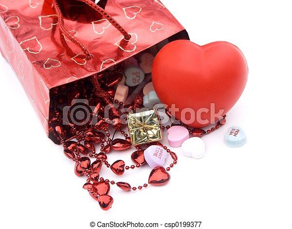 gift bag, presents 5 - csp0199377