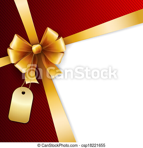 Gift bow - csp18221655