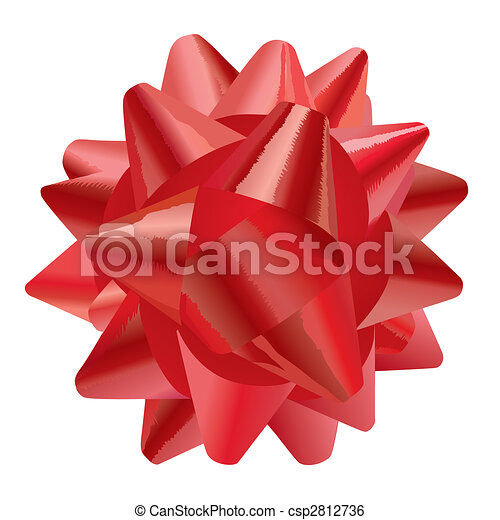 Gift Bow (vector) - csp2812736