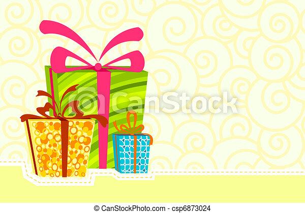 Gift Box - csp6873024