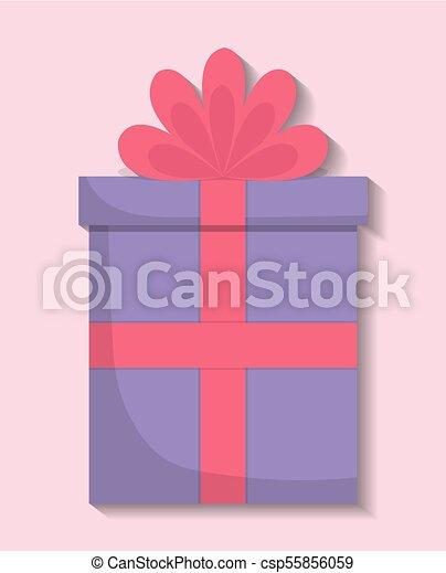gift box icon - csp55856059