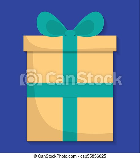 gift box icon - csp55856025