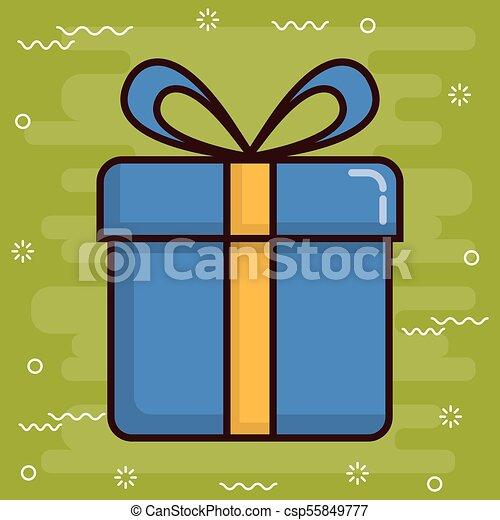 gift box icon - csp55849777