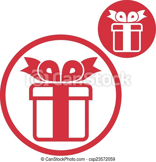 Gift box vector simple single color icon isolated on white gift box vector simple single color icon isolated on white backg negle Gallery