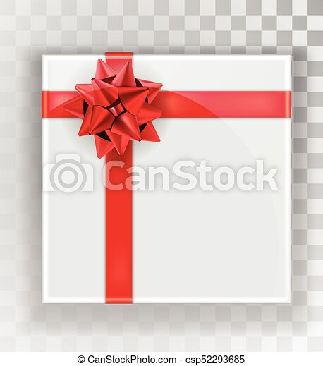 Christmas Gift Box.Gift Box White Christmas Gift Boxes Isolated On A Transparent Background Green Box With A Colorful Elegant Bow Realistic Vector Object Isolated