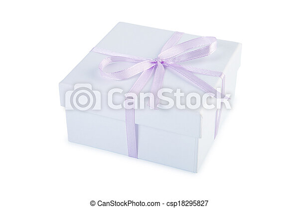 Gift box. - csp18295827