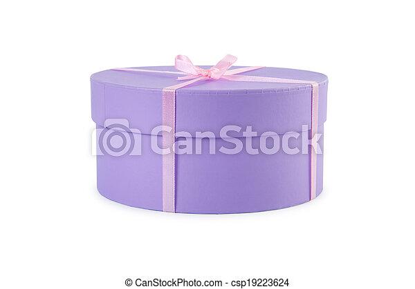 Gift box. - csp19223624