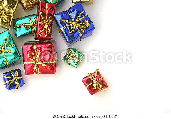 Gift Boxes - csp0478821