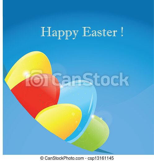 Gift card of easter eggs eps vector search clip art illustration gift card of easter eggs csp13161145 negle Gallery