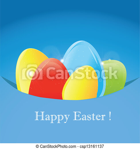 Gift card of easter eggs gift card of easter eggs csp13161137 negle Gallery