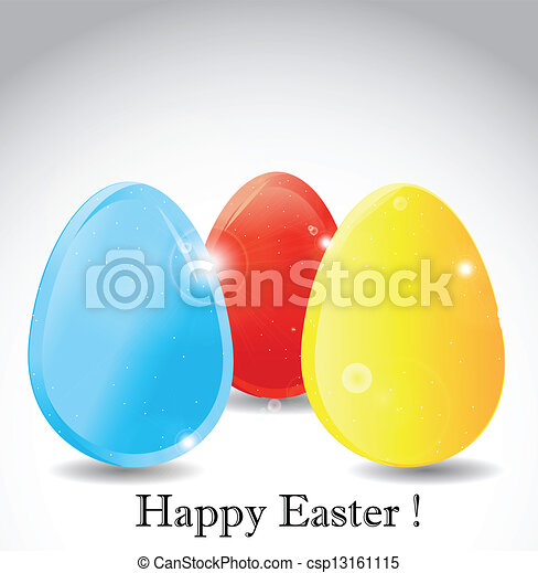 Gift card of easter eggs vector clip art search illustration gift card of easter eggs csp13161115 negle Choice Image