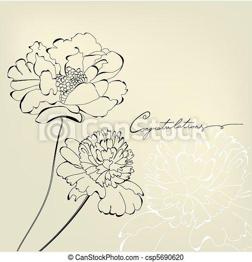 Gift card with inscription congratulation - csp5690620