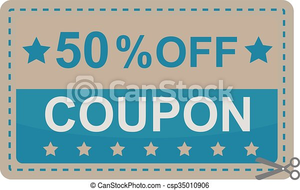 Gift Coupon Certificate Template Vector Illustration Gift Vector