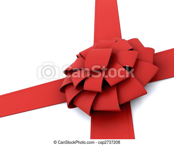 Gift ribbon - csp2737208