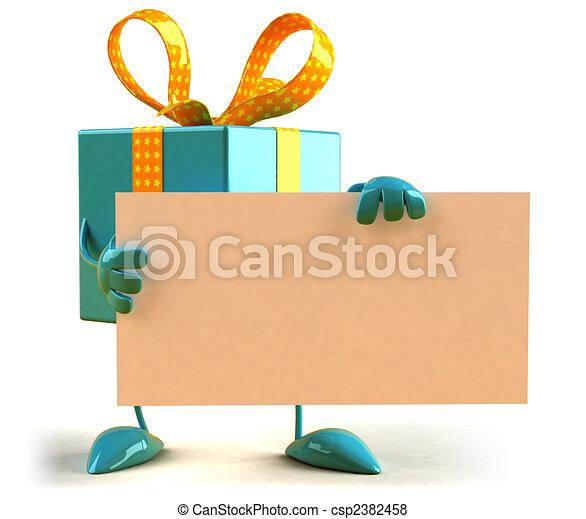Gift - csp2382458