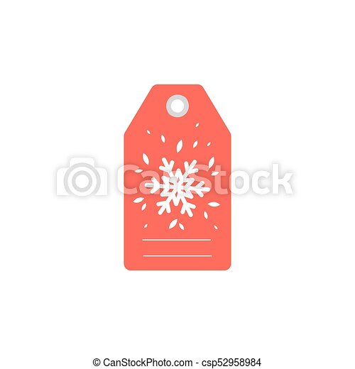 Merry Christmas Gift Tags.Gift Tag For The Holiday Christmas Gift Tag With Snow