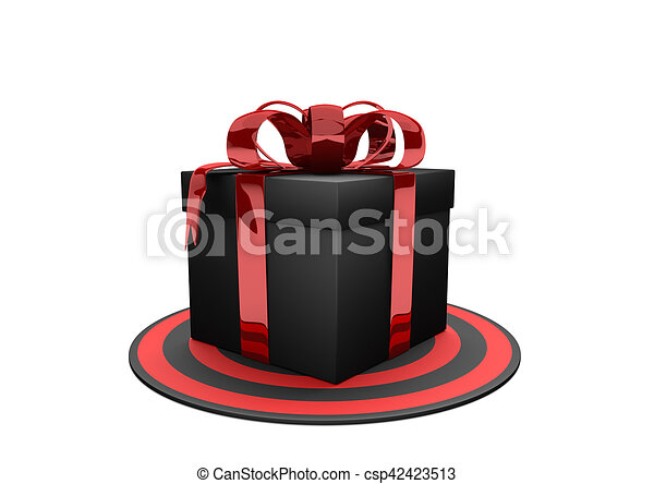 Gift Target Black Box On The