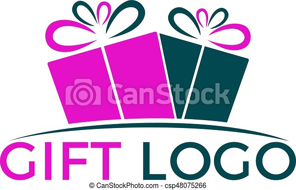 gift vector logo design illustration of gift box present clip rh canstockphoto com gift vector icon gift vector png