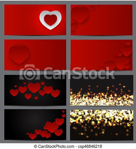Gift voucher template for your business valentines day vector gift voucher template for your business valentines day heart card love and feelings background colourmoves