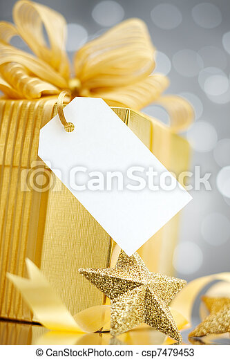 gift with tag - csp7479453
