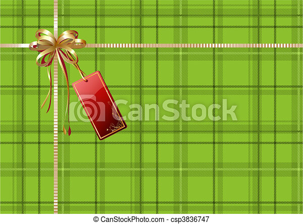 gift wrapping  - csp3836747