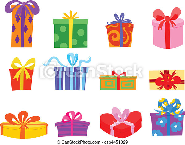 Gifts - csp4451029