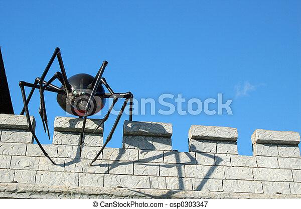 Araña gigante - csp0303347