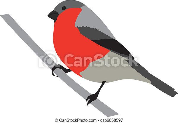 Ptak Gil Sprytny Gajówka Purpurowy Rysunek Ilustracja