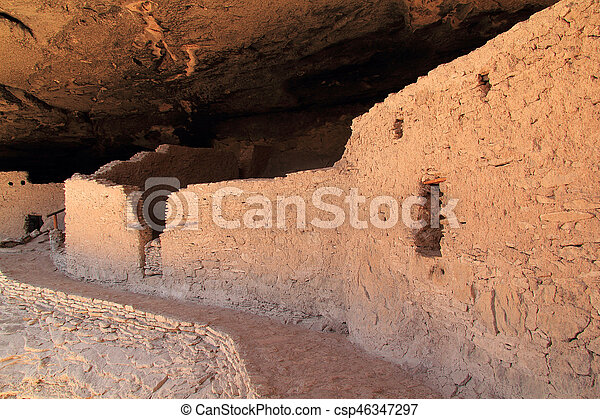 Gila Cliff Dwellings National Monument - csp46347297