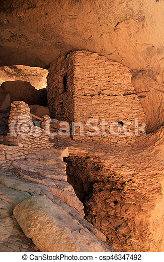 Gila Cliff Dwellings National Monument - csp46347492