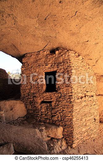 Gila Cliff Dwellings - csp46255413