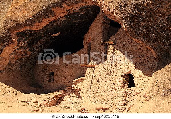 Gila Cliff Dwellings - csp46255419
