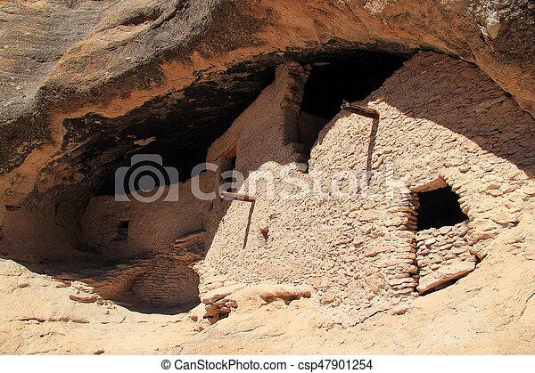 Gila Cliff Dwellings - csp47901254