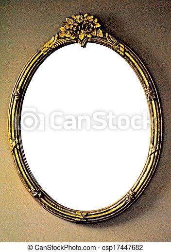 Gilded mirror frame - csp17447682