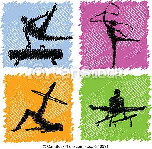 gimnastyka - csp7340991